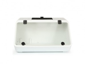 NOMOypet Reptile Turtle Tank Inclined box terrarium-White