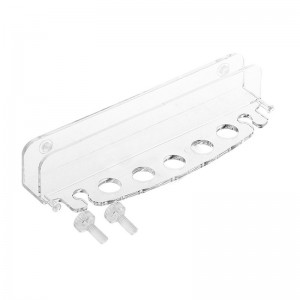 Acrylic Aquarium Water Plants Maintenance Tool Holder Rack Organizer